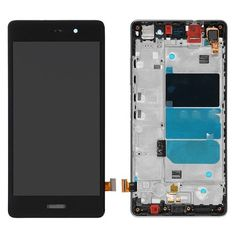 For Huawei Ascend P8 Lite LCD & Touch Screen Assembly With Frame Replacement- Black @ http://www.ogodeal.com/for-huawei-ascend-p8-lite-lcd-digitizer-touch-screen-assembly-with-frame-black.html