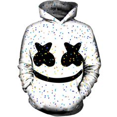 Marshmello Hoodie Rave Outfits, Cool Outfits, Summer Outfits, Alan Walker, Marshmello Dj, Hidden Identity, Mens Fashion, Rave Clothing, Hoodies