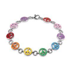 Peace Bracelet  #Charm It!