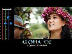 Uke Lesson 109 - Aloha 'Oe (Farewell to Thee) - Ukulele Underground Hawaiian Ukulele Songs, Uke Songs, Cool Ukulele, Ukulele Chords, Singing Lessons For Beginners, Hula Dance, Music For Studying, Country Music Singers, World Music