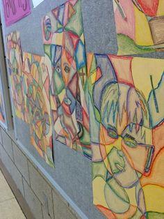 Art at Becker Middle School: Frank Big Bear Portraits