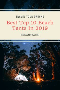 When it comes to choosing the right beach tents for your camping adventures, there is simply not a single doubt about the fact that there are so many different options to choose from. Popular Things, Beach Tent, Travel Gadgets, In 2019, Tent Camping, Travel Essentials, Tents, Nice Tops, Passport