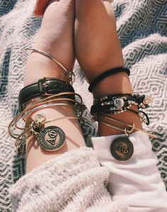 Here's to you, here's to me, here's to being an Alpha Phi  sugar link ~ Shop our Sorority Collections at Alex and Ani