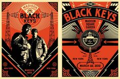 """Plakaty Shepard Fairey """"The Black Keys"""""""