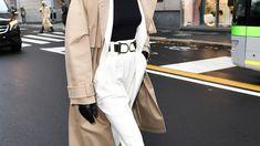 Ohne Stil kommt man auch durchs Leben, aber mit Stil ist es schöner. Deshalb gibt BLICK-Styling-Expertin Tatjana Kotoric alle zwei Wochen Tipps und zeigt Trends. Heute gehts um die Must-haves für den Frühling. Neue Trends, Khaki Pants, Normcore, Coat, Jackets, Fashion, Life, Nice Asses, Down Jackets