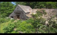 Tasha Tudor barn from the hill