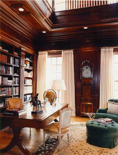 Working from home is a pleasure in these well-appointed rooms with desks.