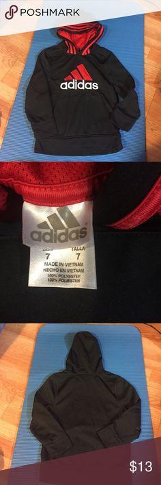 NWOT size 7 adidas hoodie NWOT size 7 adidas hoodie. Adidas Shirts & Tops Sweatshirts & Hoodies