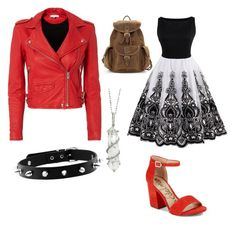 Charlotte outfits#2 by hphillips636 on Polyvore featuring polyvore moda style IRO Sam Edelman Sharon Khazzam fashion clothing