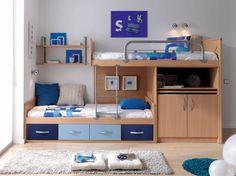 dormitorios funcionales para ninos | inspiración de diseño de interiores