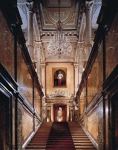 Royal Staircase - Hotel Imperial, Vienna