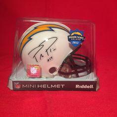 San Diego Chargers Philip Rivers #17 2012 Season Ticket Holder Mini Helmet NEW