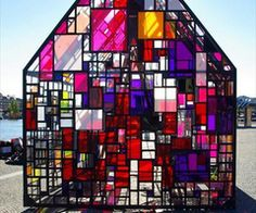 Stained glass greenhouse?