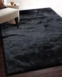 ikea black fur rug – Rug making Bedroom Carpet, Living Room Carpet, Rugs In Living Room, Plush Carpet, Rugs On Carpet, Wall Carpet, Stair Carpet, Cheap Carpet, Bath