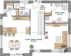 Small Modern House Plans, Modern Floor Plans, Farmhouse Floor Plans, Floor Plan 4 Bedroom, 4 Bedroom House Plans, Modern Architecture House, Architectural Design House Plans, Australia House, Ikea Bedroom