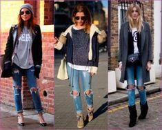 Aprende a combinar los slits jeans y luce un atuendo espectacular y despreocupado cuando quieras y donde quieras.