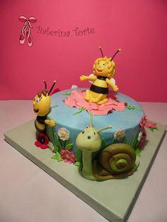 Lovely Maya the Bee Cake, Pcelica Maja torta by Balerina Torte Jagodina