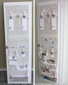burlap-memo-board-installed