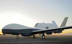 Giant surveillance drone nears service | High over the Indian Ocean, a giant surveillance drone spots a small suspicious vessel, perhaps an illegal fisher, perhaps a drug or people smuggler . . .