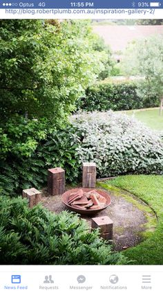 There is just an outdoor fire pit seating and there are seating ideas that are just spectacular. Someone with good taste and knowledge has created these designs, and we got to learn from them. There is something magical about seating… Continue Reading → Cozy Backyard, Fire Pit Backyard, Garden Fire Pit, Backyard Ideas, Outside Fire Pits, Fire Pit Landscaping, Fire Pit Furniture, Fire Pit Seating, Seating Areas