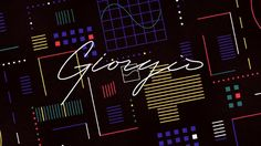 An homage to the great Giorgio Moroder. The film samples a piece of audio from Daft Punk's Random Access Memories where Giorgio recounts the discovery of his now infamous synthesizer sound.     Direction/Design/Animation: Nicolo Bianchino  Music: Daft Punk - Giorgio by Moroder  Additional Sound Design: Ambrose Yu