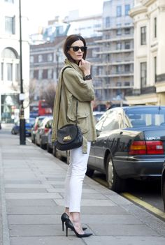 khaki+white+black