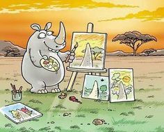 Rhino's Point of View. #lol