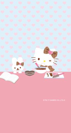 Sanrio Wallpaper, Kawaii Wallpaper, Cartoon Wallpaper, Cool Wallpaper, Iphone Wallpaper, Hello Kitty Backgrounds, Hello Kitty Wallpaper, Hello Kitty Accessories, Hello Kitty Pictures