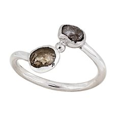 white gold x diamond Rough Diamond, White Gold Rings, Oceans, Dares, Connect, Diamonds, Challenge, Happiness, Journey