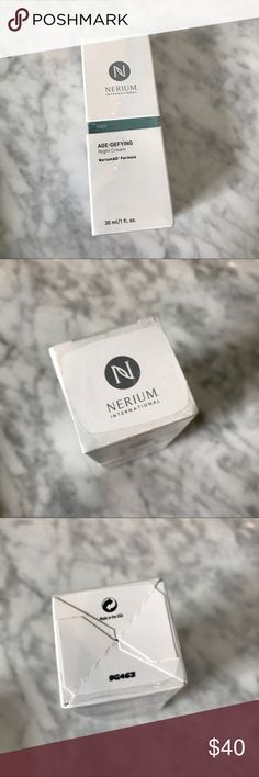 Nerium AD Night Cream New! NEW sealed box of Nerium Age Defying Night face cream. 1 oz Nerium AD Makeup