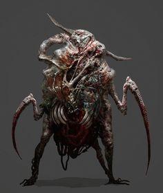 Necromorph 3 by mythrilgolem1 on DeviantArt