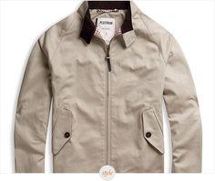 Style Pick: Ben Sherman Plectrum Cramerton Harrington Jacket