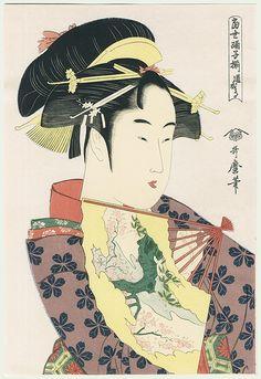 dojoji  / utamaro / 1750 - 1806