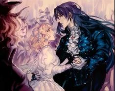 Goth Bedroom, Beautiful Couple, Diabolik Lovers, Anime, Couples, Gothic Room, Gothic Bedroom, Cartoon Movies, Couple