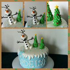 1000+ images about Cake Decorating~Disney s Frozen on ...