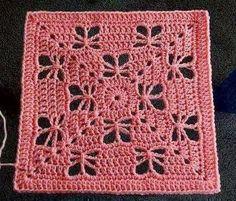 Transcendent Crochet a Solid Granny Square Ideas. Inconceivable Crochet a Solid Granny Square Ideas. Crochet Squares Afghan, Crochet Motifs, Granny Square Crochet Pattern, Crochet Blocks, Crochet Granny, Crochet Stitches, Knit Crochet, Granny Squares, Ravelry Crochet