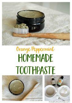 Toothpaste Recipe, Homemade Toothpaste, Homemade Clay, How To Make Homemade, Homemade Beauty, Natural Toothpaste, Bentonite Clay Toothpaste, Homemade Gifts, Uses For Bentonite Clay