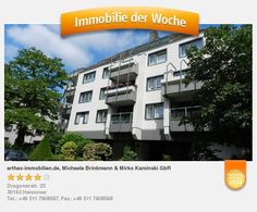 Verkaufsangebot einer Eigentumswohnung in Hannover Vahrenwald List - aufgenommen und gepinnt vom Immobilienmakler in Hannover: arthax-immobilien.de