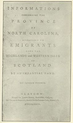The Royal Colony of North Carolina - The Highland Scots Settlers - My people. Genealogy Humor, Genealogy Search, Family Genealogy, North Carolina History, Diana Gabaldon Outlander Series, Family Research, Family Roots, Interesting History, Ancestry