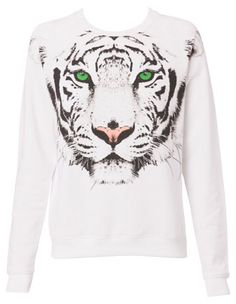 Miss Shop - Tiger Sweat Top ($19.95) from myer.com.au