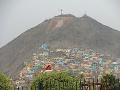 Lima, Peru-I remember going to the top and almost dying on the way down! Our bus driver almost drove us off a cliff!