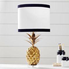 The Emily & Meritt Pineapple Table Lamp Bedroom Themes, Bedroom Decor, Bedroom Ideas, Bedroom Table, Glam Bedroom, Pretty Bedroom, Bed Room, Master Bedroom, Pineapple Room