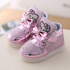 2016 New Baby Girls LED Light Shoes Anti-Slip Sports Kids Sneakers Children's Hello Kitty Chaussure Enfant Size 21-30♦️ B E S T Online Marketplace - SaleVenue ♦️👉🏿 http://www.salevenue.co.uk/products/2016-new-baby-girls-led-light-shoes-anti-slip-sports-kids-sneakers-childrens-hello-kitty-chaussure-enfant-size-21-30/ US $8.48
