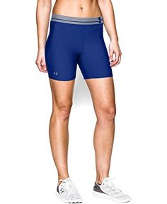 Under Armour Womens HeatGear Armour 5 Middy XLarge Royal ** Click image for more details.