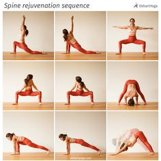 Revitalise and restore your spine in this short, simple and sweet Yoga pose sequence from EkhartYoga teacher MacKenzie Miller  -  https://www.ekhartyoga.com/blog/a-sequence-to-rejuvenate-your-spine