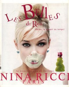 Les Belles de Ricci by Nina Ricci (1996). This used to be my absolute favourite, too bad they ceased production. It contained a hint of sunny, spicy tomatoes, just imagine.
