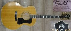 1978 Guild F-50BL Jumbo Acoustic Guild Acoustic Guitars, Cool Guitar, Music Instruments, Amazing, Beautiful, Musical Instruments
