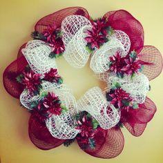 Traditional Christmas Wreath $50.00