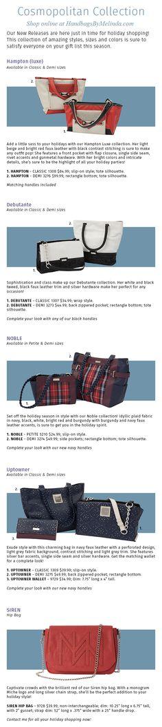 Check out the hot new Miche Cosmopolitan Collection! #winterfashion #handbags