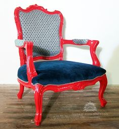 Traditional Baroque Carved Armchair / Baroque Armchair / Dutch Connection Tub Chair, Baroque, Painted Furniture, Dutch, Connection, Armchair, Chairs, Carving, Bright